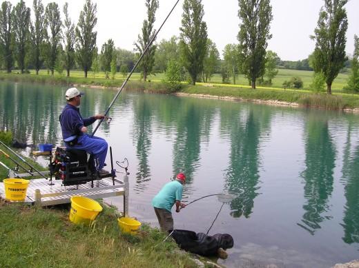 pesca sul mincio per disabili