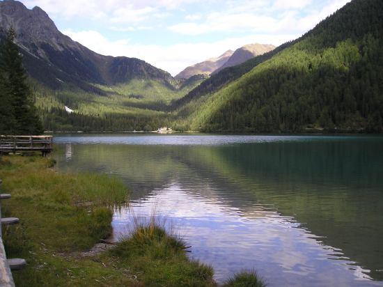 Il lago di Anterselva.